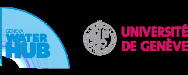 Water Hub and Geneva University logos