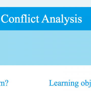Water Conflict Analysis